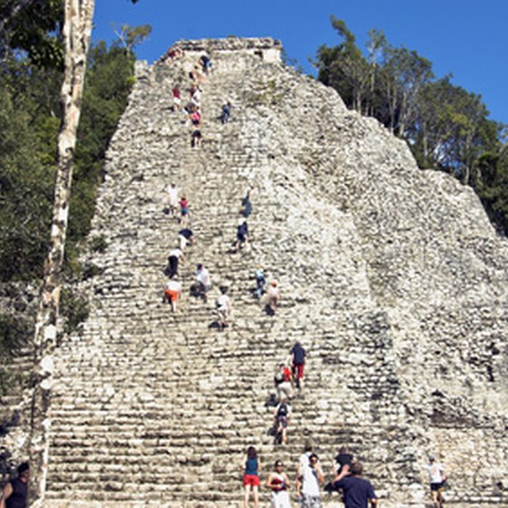 The Yucatan is a popular destination on educational tours in Mexico.