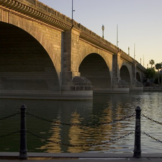 The London Bridge in Lake Havasu City, Arizona