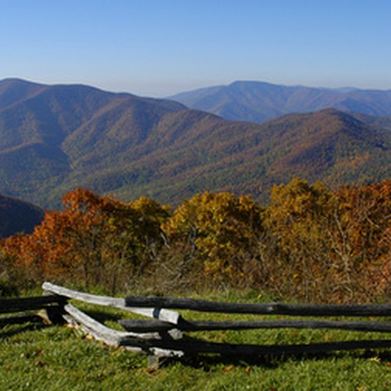 The mountains of Shenandoah National Park are just one Virginia getaway possibility.