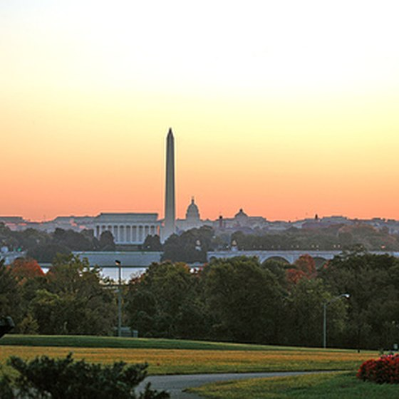 Washington, D.C., from Arlington National Cemetery