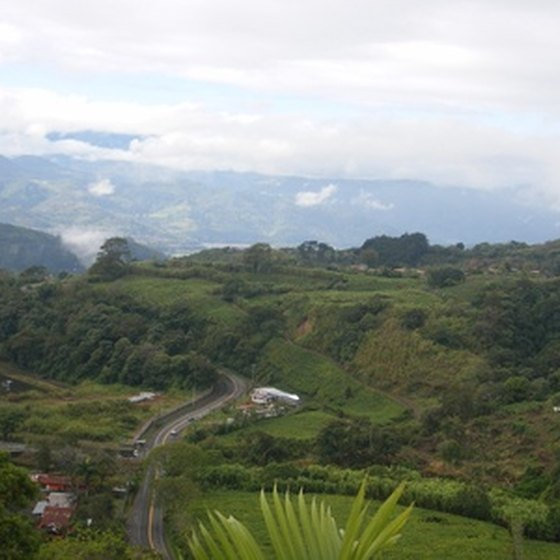 A view of the Costa Rican countryside
