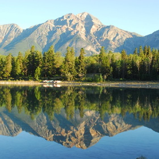 Bicycle tours offer a unique way to take in the majestic beauty of the Canadian Rockies.