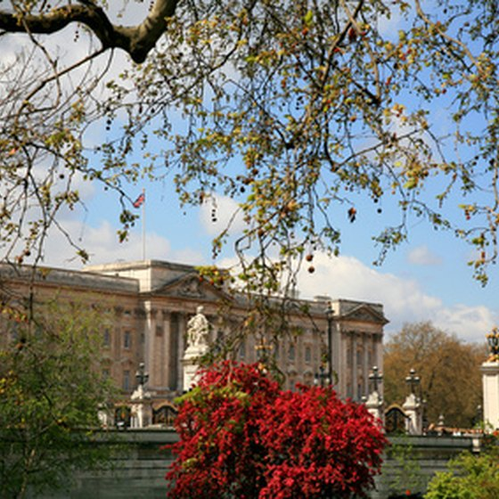 Buckingham Palace is one of the stops on the Big Bus tour.