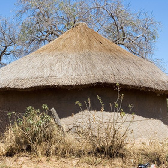 A traditional African dwelling