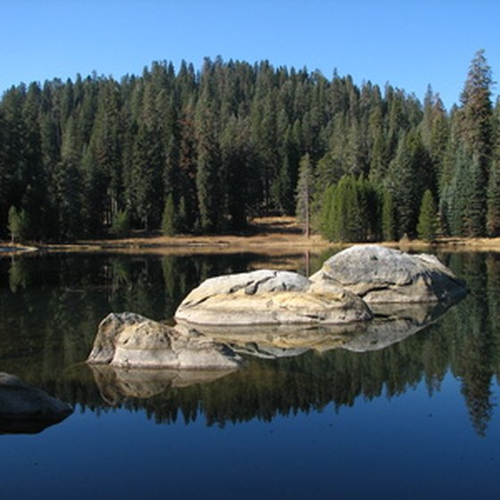 Mirror Lake offers an ideal camping base for hikers headed into the Uinta Mountains.