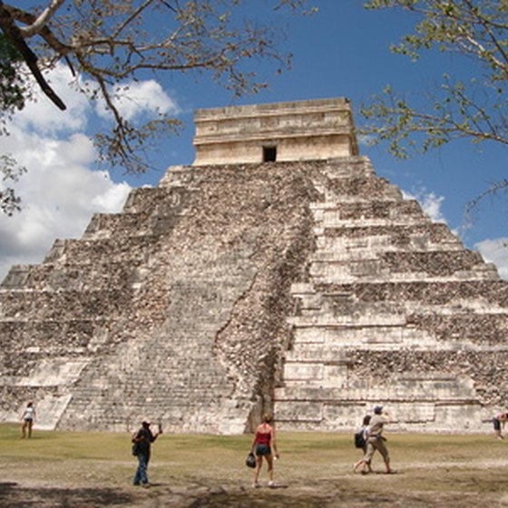 The Mayan pyramids at Chichen Itza are only a short trip from Merida.