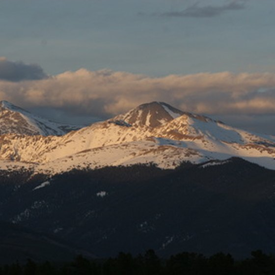 The Rocky Mountains -- Denver's backyard.