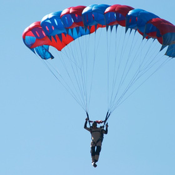 Extreme sports fans can find plenty of skydiving opportunities in Southern California