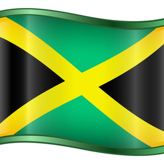 Jamaica's national colors