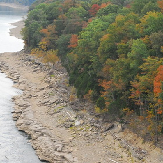 Lake Cumberland is a major Kentucky destination for boating, camping and fishing.