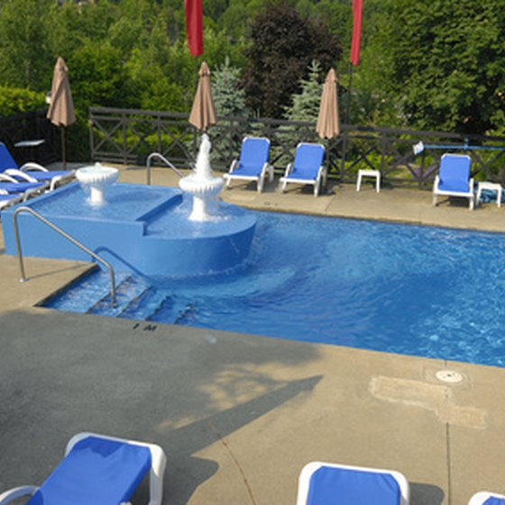 Select Buford hotels feature on-site swimming pools.