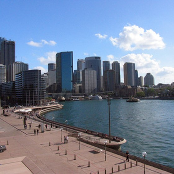 A ferry boat ride of picturesque Sydney Harbor is a must for visitors.