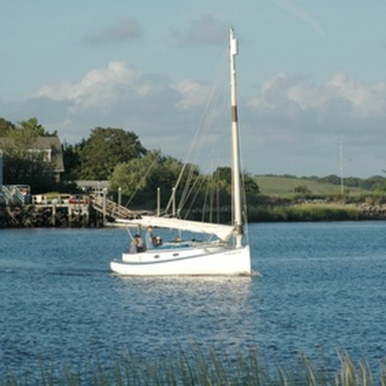 Long Island offers sheltered waters that are ideal for sailing.