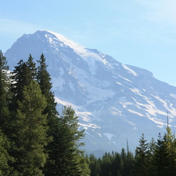 Mt. Baker has the highest average annual snowfall in the world.