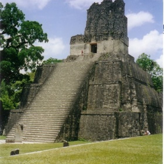 Mexico's Mayan ruins are a major tourist attraction.