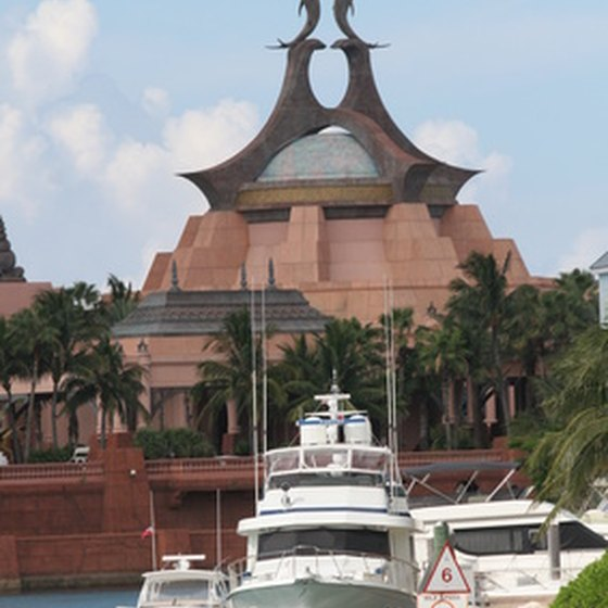 The Atlantis Resort offers many of Paradise Island's popular shore excursions.