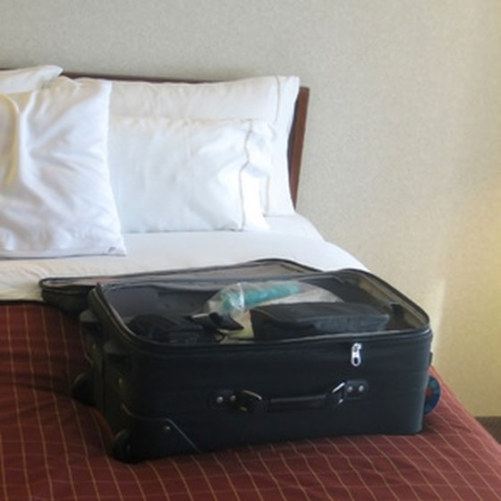 Well-organized luggage can cut down on time and hassle.