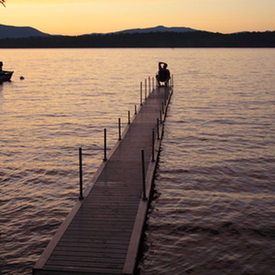 The Great Sacandaga Lake is in upstate New York.