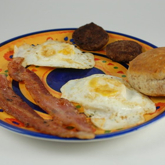 Bed and breakfast hotels serve guests fresh breakfast each morning.