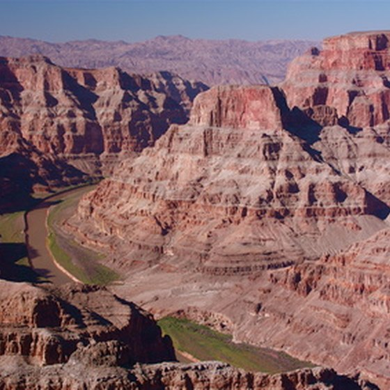 The Colorado River carved the Grand Canyon.