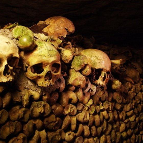 Rome's catacombs are ancient underground cemeteries.