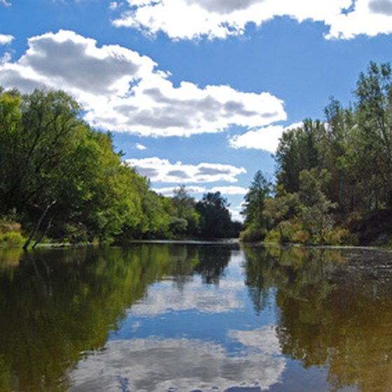 The Vermillion River flows near Farmington and offers visitors a variety of recreational activities.