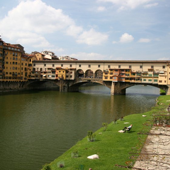 The Arno River can be explored on a day tour to Florence, Italy.