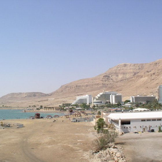 The Dead Sea purportedly features numerous healing powers.