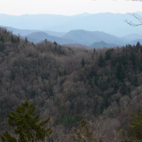 Smoky mountain scenery