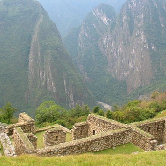 Machu Picchu is a popular hiking destination