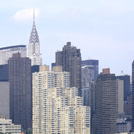 New York City's skyline hides several eco-friendly hotels.