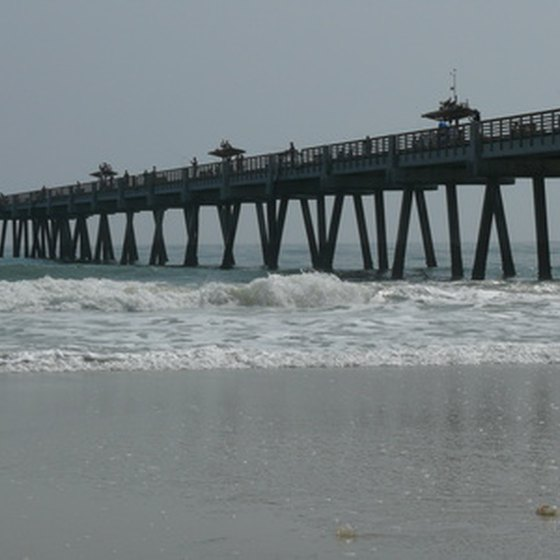 Take a walk on a fishing pier at Fort Walton Beach parks.