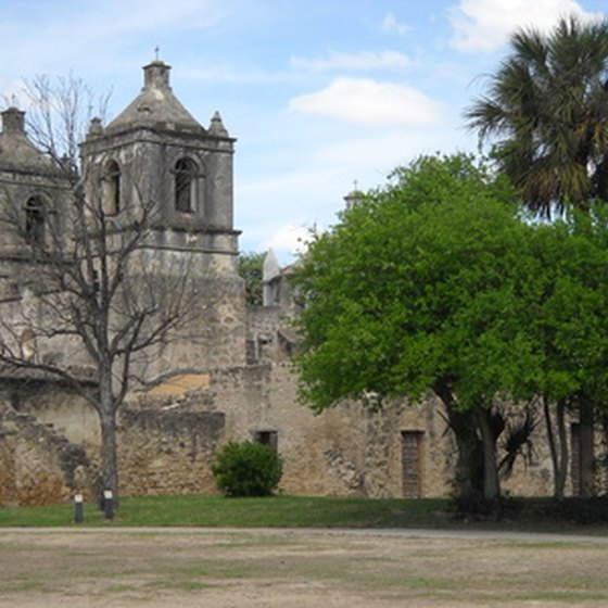 Mission Concepcion is one of San Antonio's historic missions.