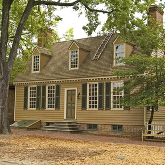 Colonial inns and homes abound in the state of Connecticut
