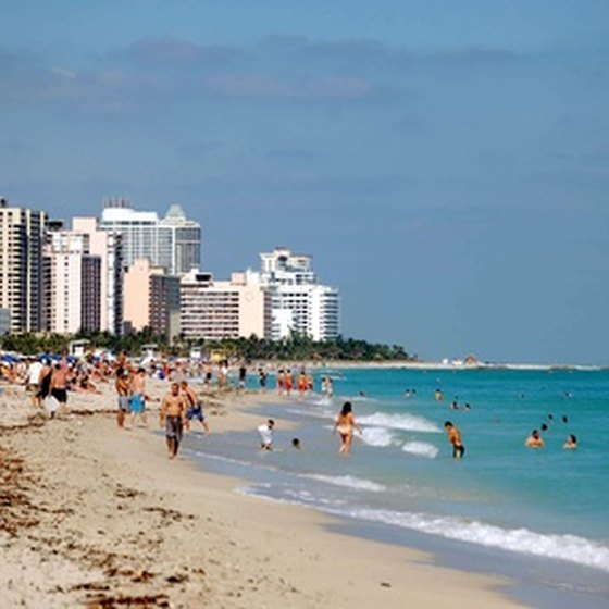 South Beach offers sun, sand and high-end hotels.