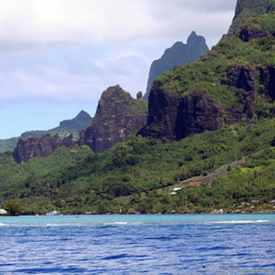 The dramatic coast of Tahiti is a memorable view on a Central Pacific cruise.
