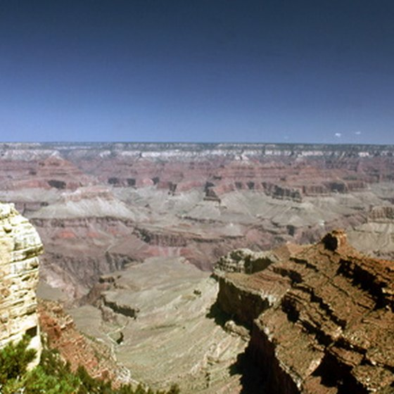 Arizona's Grand Canyon is one of the seven Natural Wonders of the World.