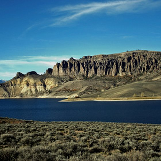 Gunnison, Colorado, is located on a high plateau with rivers and streams.