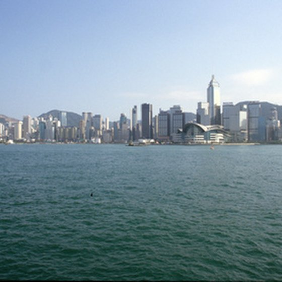 Visit Hong Kong on a Far East cruise.