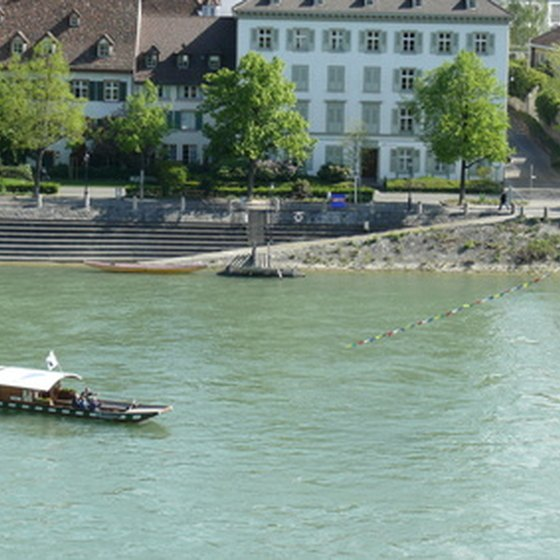 Rhine River at Basel
