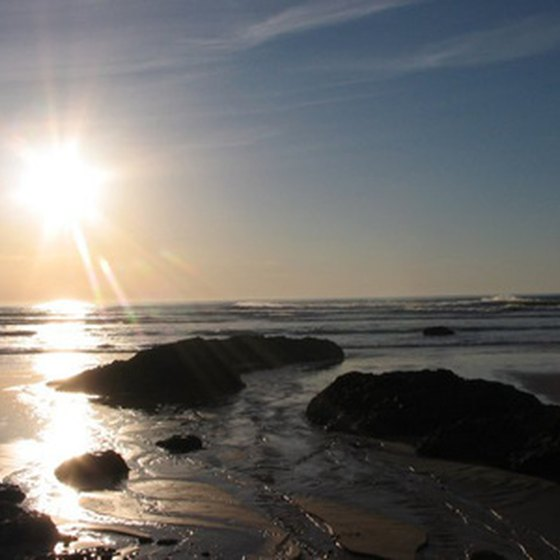 Cannon Beach's close-in breaks offer good practice for beginners. More challenging spots can be found just out of town.