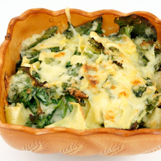 Italian vegetable lasagna.