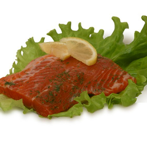 Salmon is a Norwegian staple.