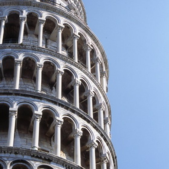 The Leaning Tower of Pisa is an Italian icon.