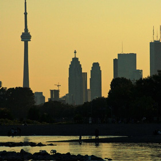 The suburb of Brampton puts visitors within a short distance of the Toronto skyline.