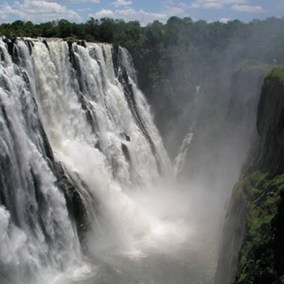 Victoria Falls is one of the natural wonders of the world.