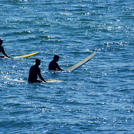 Dana Point offers several surf spots for beginners and advanced surfers.