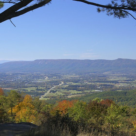 Scenic overlooks characterize the Blue Ridge Parkway.