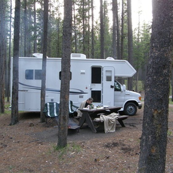 RV parks near Annapolis, MD offer shaded campsites.