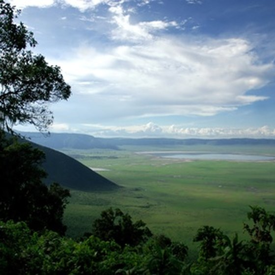 East Africa's spectacular scenery draws visitors.